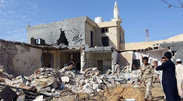 Libyada Hafter güçleri bir evi vurdu: 3 ölü, 2 yaralı
