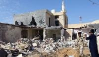 Libya'da Hafter güçleri bir evi vurdu: 3 ölü, 2 yaralı
