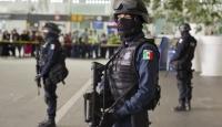 Meksika'da 14 polis memuru pusuya düşürülerek öldürüldü