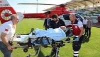 Kırklareli'nde pekmez kaynattığı kazana düşen kişi hayatını kaybetti