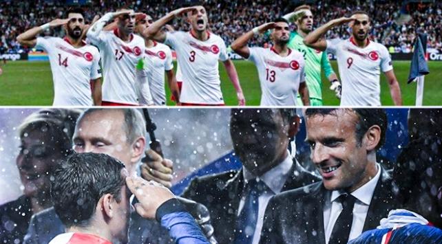 A Milli Futbol Takımının selamını göstermeyen Fransanın iki yüzlülüğü