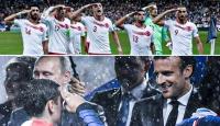 A Milli Futbol Takımı'nın selamı göstermeyen Fransa'nın iki yüzlülüğü