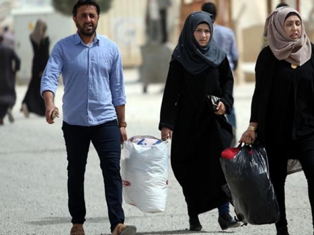 Tel Abyadlılar ilçelerine dönmeye başladı