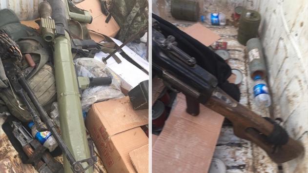 PKK/YPGli teröristler kaçma telaşında