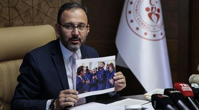 Gençlik ve Spor Bakanı Kasapoğlundan UEFAya sert tepki