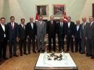 Cumhurbaşkanı Erdoğan, TürkiyeAB Karma İstişare Komitesi üyelerini kabul etti