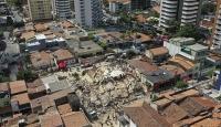 Brezilya'da 7 katlı bina çöktü