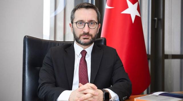 İletişim Başkanı Altun, AFPye Barış Pınarı Harekatını anlattı