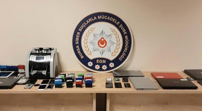Uluslararası dolandırıcılık şebekesi çökertildi: 22 gözaltı