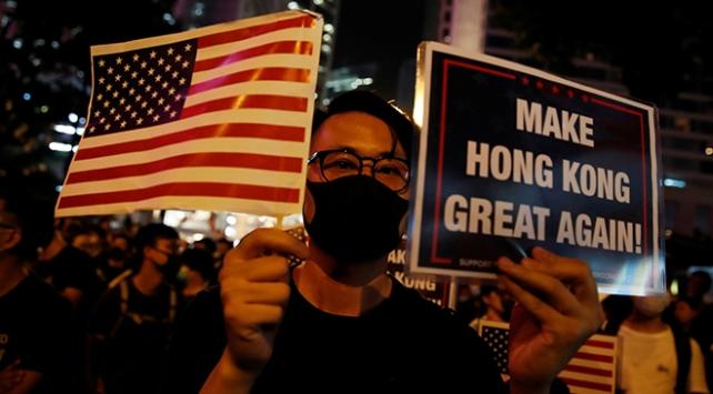 Çinden ABDye Hong Kong Yasası tepkisi