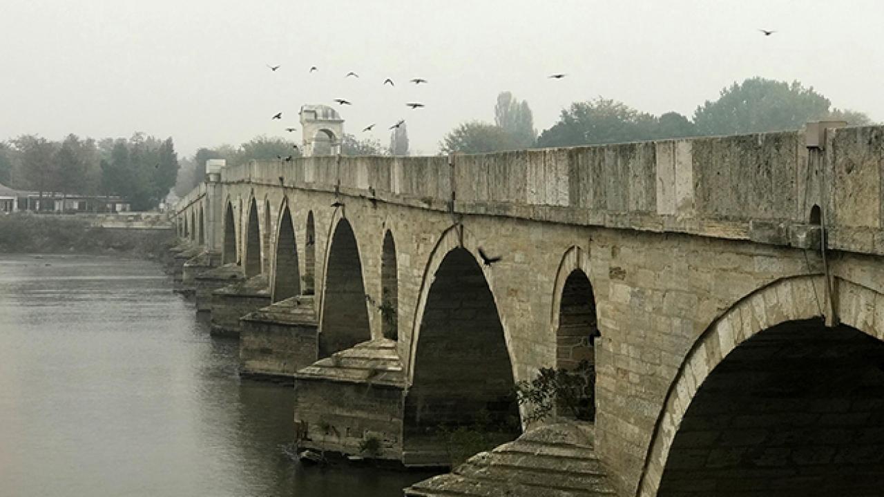 Meriç Köprüsünün restorasyonu tamamlandı
