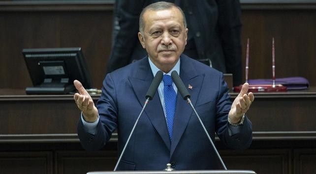 Cumhurbaşkanı Erdoğan: Hemen bu gece teröristler Güvenli Bölge dışına çıksınlar