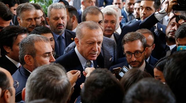 Cumhurbaşkanı Erdoğandan asker selamı soruşturması ile ilgili ilk yorum