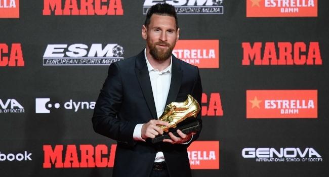Messi 6. kez Altın Ayakkabının sahibi