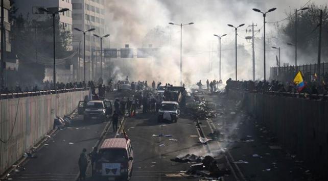 Ekvadordaki protestolarda 6 kişi hayatını kaybetti