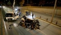 Ankara'da trafik kazası: 2 ağır yaralı