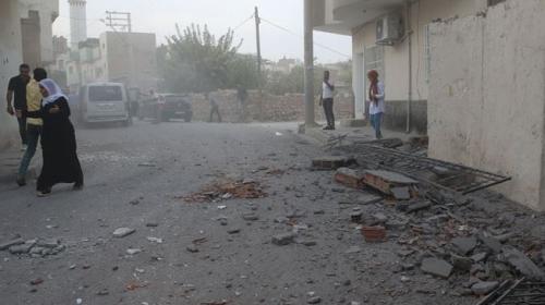 PKK/YPG'li teröristlerin saldırı anının görüntüleri ortaya çıktı