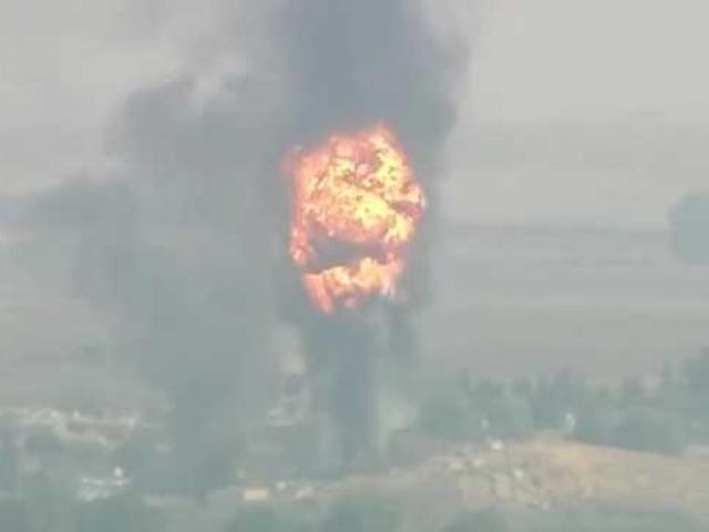 Terör örgütü PKK/YPG'ye ait silah ve mühimmat ele geçirildi