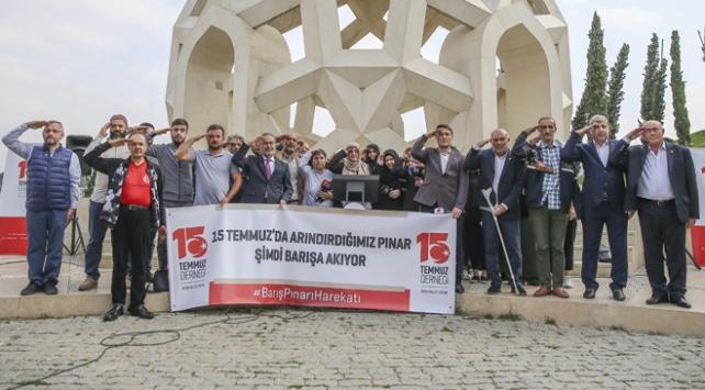 15 Temmuz Derneğinden Barış Pınarı Harekatına destek