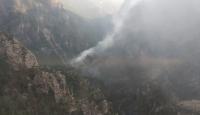 Muğla'da yıldırım yangına sebep oldu