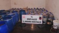 Isparta'da kaçak içki operasyonu: 5 gözaltı