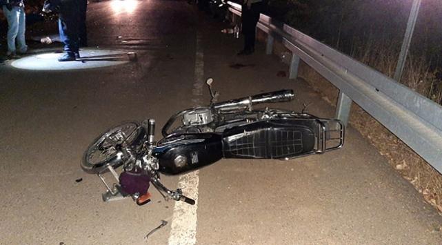 Kahramanmaraşta 2 motosiklet çarpıştı: 2 ölü, 2 yaralı