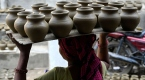 Hint çömlekçiler festivale hazırlanıyor