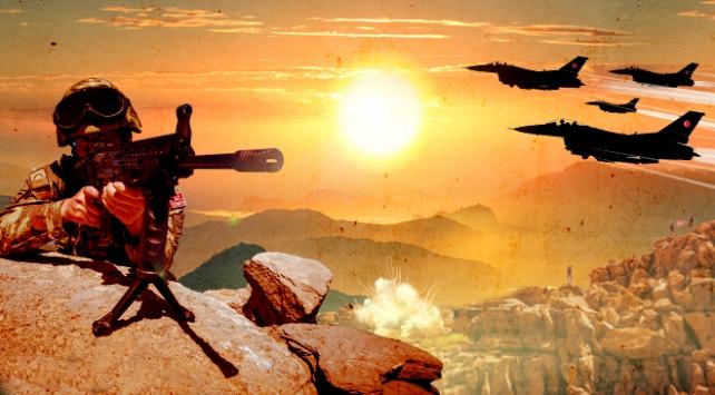 Hakurk bölgesinde 2 PKKlı terörist etkisiz hale getirildi
