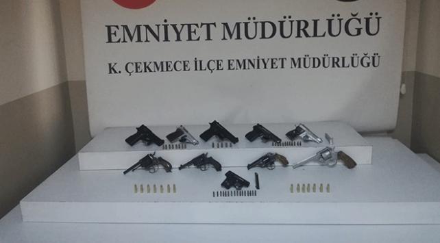 İstanbulda silah kaçakçılığı operasyonu