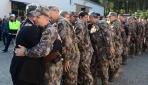 Özel harekat polisleri Barış Pınarı Harekatına uğurlandı