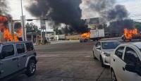 Meksika'da çete üyeleri Culiacan kentini savaş alanına çevirdi