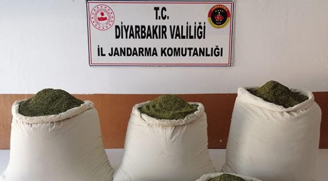 Diyarbakırda 158 kilogram esrar ele geçirildi