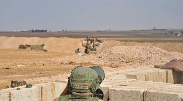 PKK/YPGli teröristlerden son 36 saatte 14 taciz saldırısı