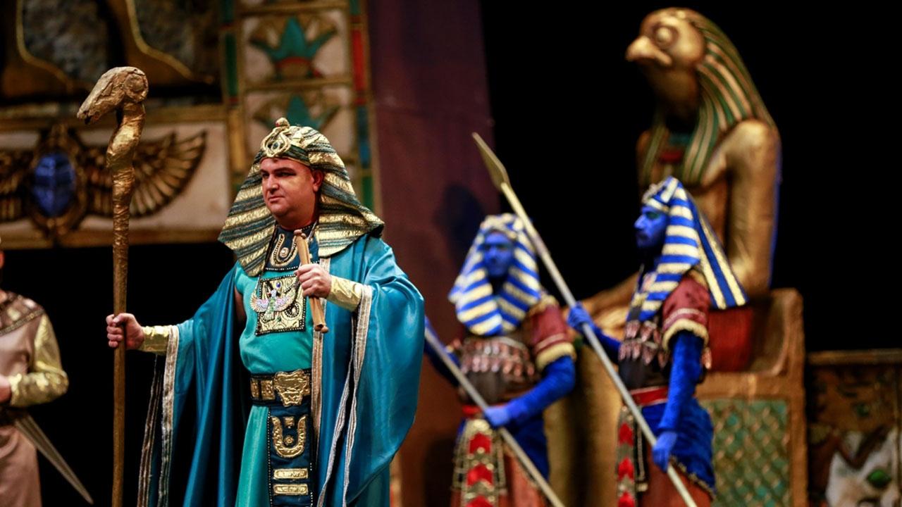 """""""Aida"""" ATO Congresiumda sanatseverlerle buluşuyor"""