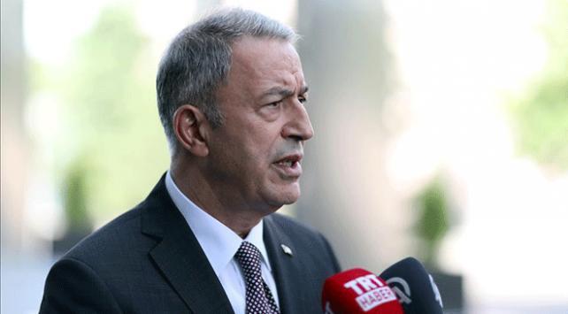 Milli Savunma Bakanı Akar: Kahramanlık destanını şanlı tarihimize altın harflerle yazdırdılar