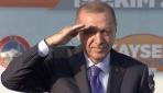 Cumhurbaşkanı Erdoğandan asker selamı
