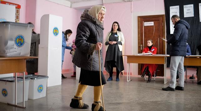 Moldovada halk sandık başında