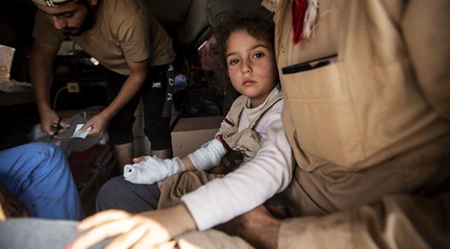 Tel Abyadda PKK/YPGnin eve döşediği mayın patladı: 3 sivil yaralandı