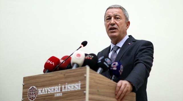 Milli Savunma Bakanı Akar: Envanterimizde bir gram kimyasal silah yok