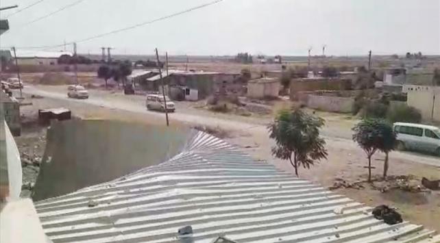 PKK/YPGli teröristlerin çekilmesi TSKnın yakın takibinde