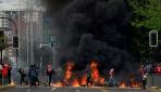 Şilideki zam protestoları şiddetli ayaklanmaya dönüştü
