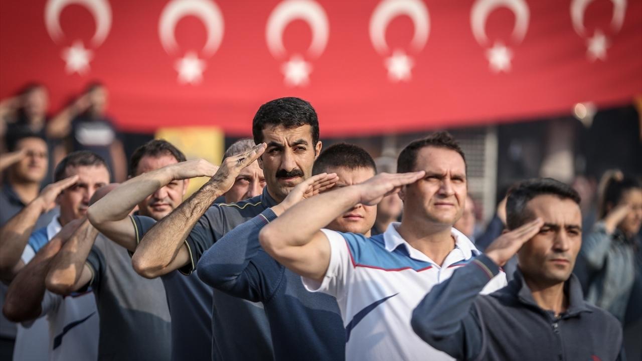 PTT çalışanlarından Barış Pınarı Harekatına destek