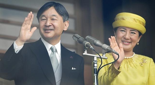 """Japonyanın 126. İmparatoru Naruhito """"kasımpatı tahtına"""" oturuyor"""