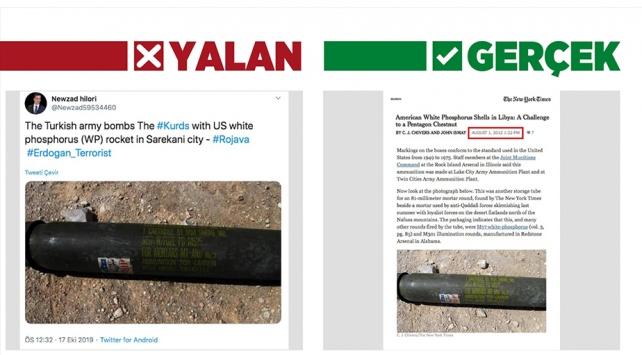 Libyadaki fosfor bombasını harekatta kullanılmış gibi çarpıttılar