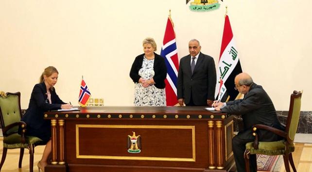 Irak ve Norveç petrol alanında mutabakat zaptı imzaladı