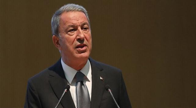 Bakan Akar: Taciz ve saldırılara karşı meşru müdafaa hakkımız daima geçerli