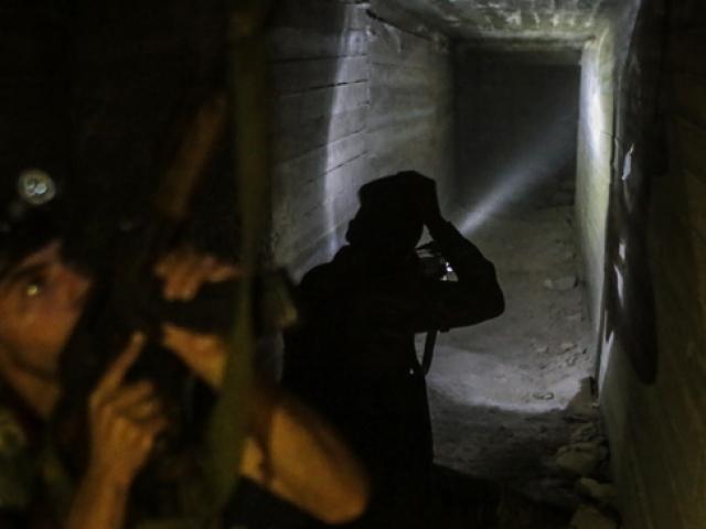 Tel Abyad'da teröristlerin kaçış tünelleri ortaya çıkarıldı