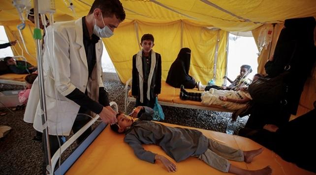 Yemende bu yıl koleradan 913 kişi yaşamını yitirdi