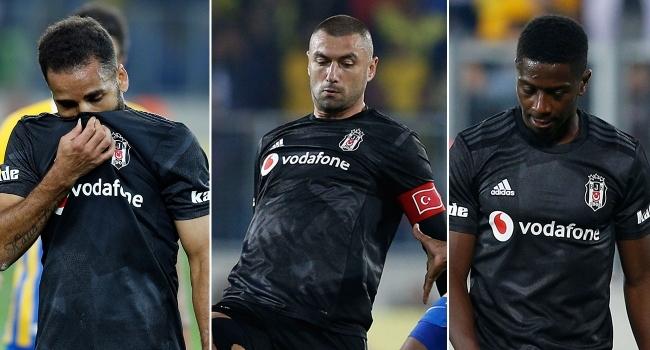 Beşiktaş'a sakatlardan kötü haber