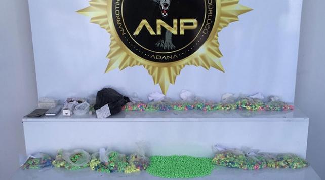 Adana'da 27 bin uyuşturucu hap ele geçirildi